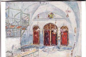 JUDAICA - Synagoge Jerusalem, Marc Chagall