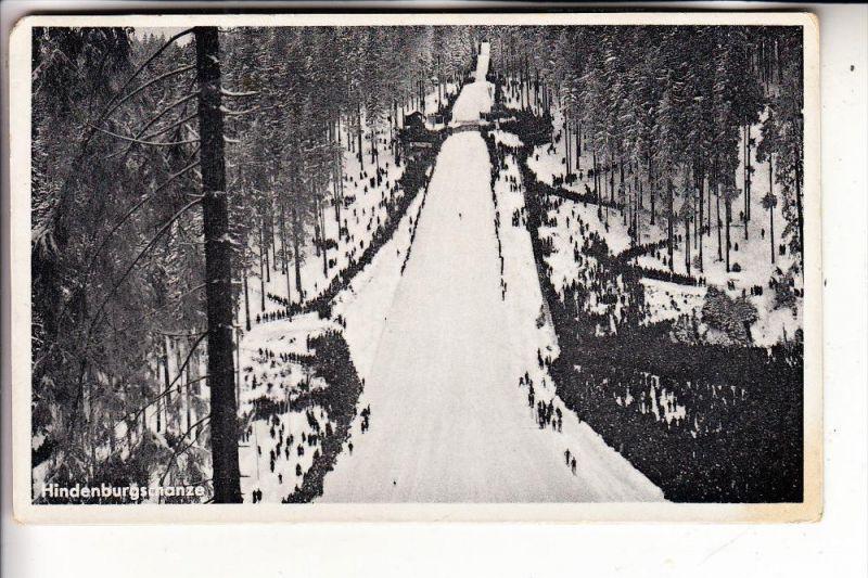 0-6055 OBERHOF, Hindenburgschanze, 1938