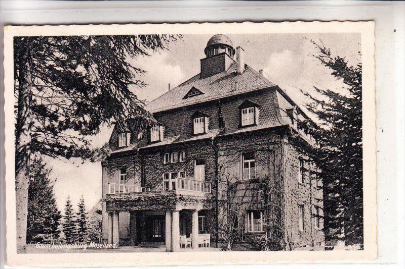 5400 KOBLENZ - METTERNICH, Gauschulungsburg Moselland, rücks. kl. Klebereste
