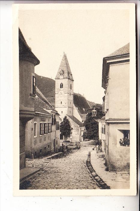 A 3620 SPITZ, Strassenansicht, Pfarrkirche, 1914