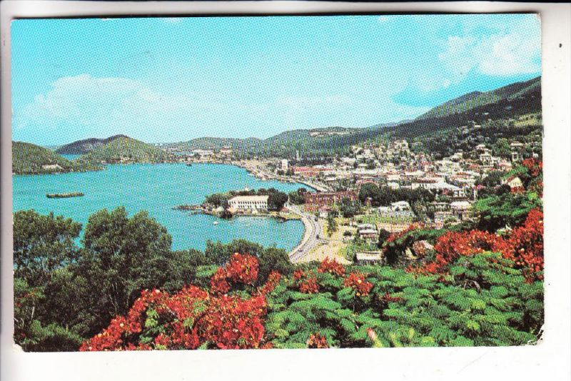 VIRGIN ISLANDS, St. Thomas, Charlotte Amalie Harbor, 1969