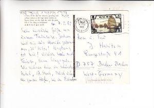 HONGKONG, 1982, Michel 381, AK-Einzelfrankatur nach Deutschland