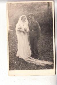 MILITÄR - UNIFORM, Wehrmacht, Hochzeit / Wedding, Photo-AK
