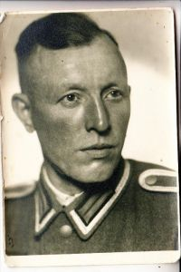 MILITÄR - UNIFORM, Wehrmacht, Porträt, Photo-AK