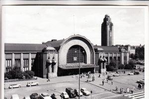 SF 10000 HELSINKI, Järnvägsstationen / Bahnhof / La Gare / Station