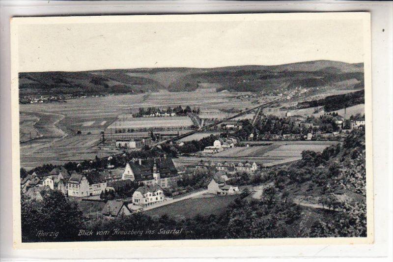 6640 MERZIG, Blick vom Kreuzberg, 1939
