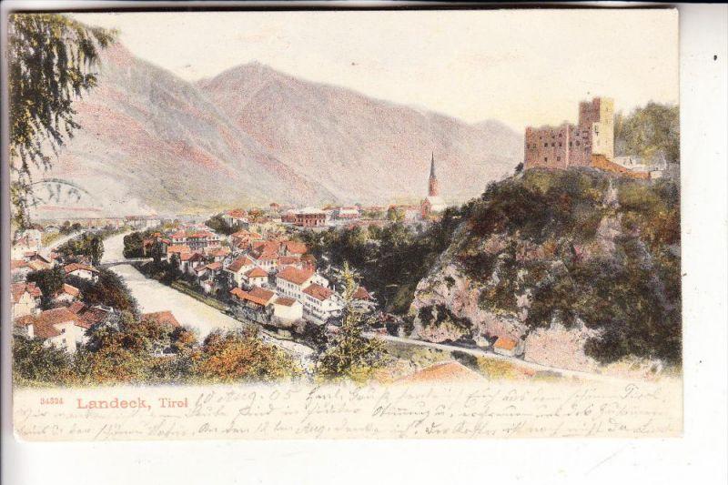 A 6500 LANDECK, Ortsansciht, 1905