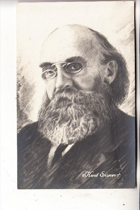JUDAICA - Berühmte Juden, KURT EISNER, Politiker