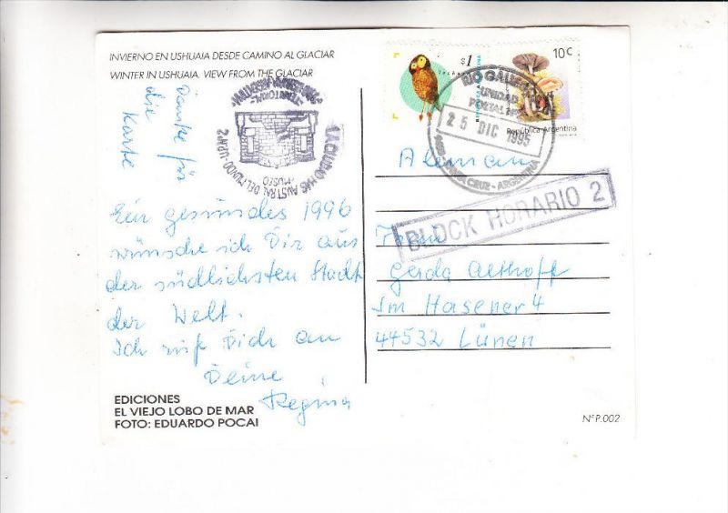 ARGENTINA / ARGENTINIEN, 1995, Michel 2204 & 2266, , RIO GALLEGOS