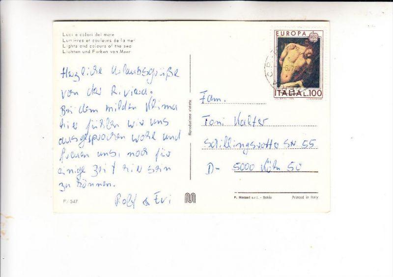 ITALIA / ITALIEN - 1975, Unificato 1295, Einzelfrankatur nach Deutschland