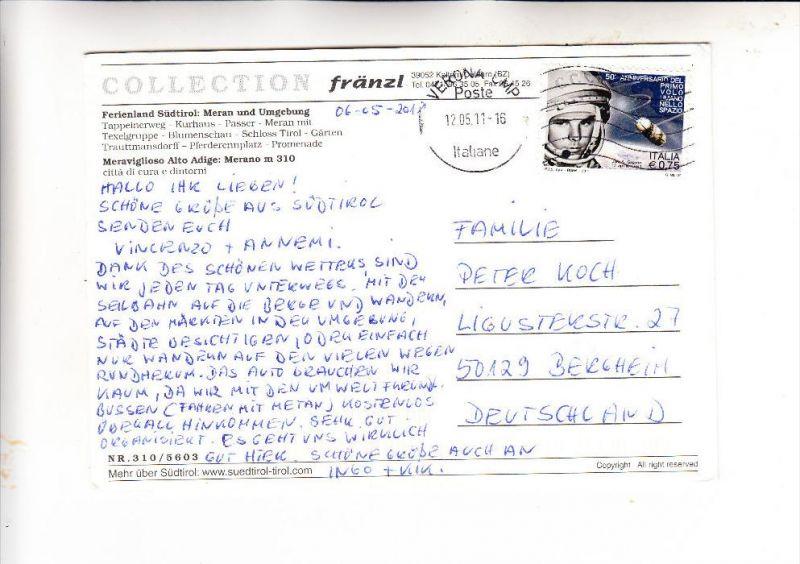 ITALIA / ITALIEN - 2011, Unificato 3282, Einzelfrankatur nach Deutschland