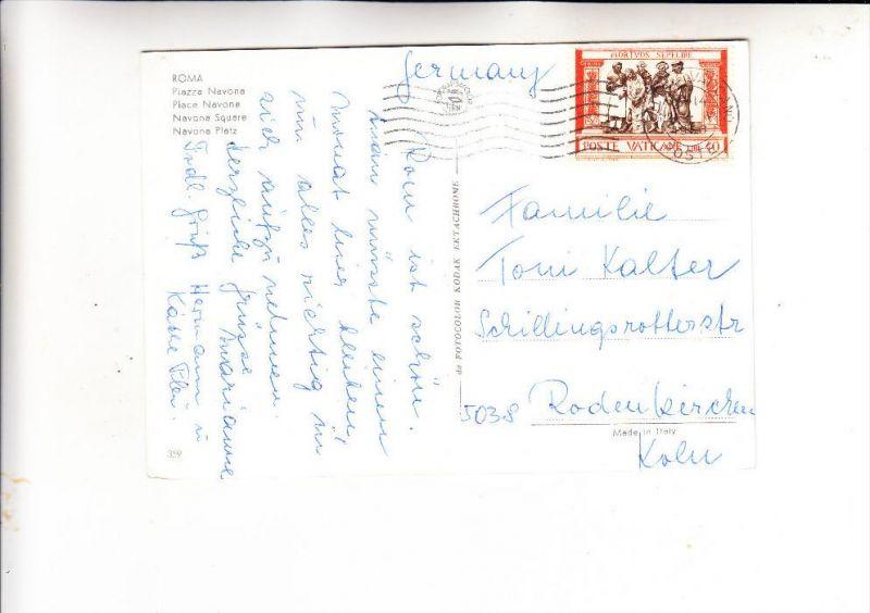 VATICAN - 1960, Unificato 290, Einzelfrankatur nach Deutschland