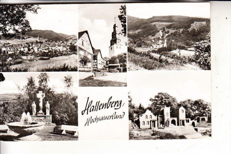 5789 HALLENBERG, Mehrbildkarte