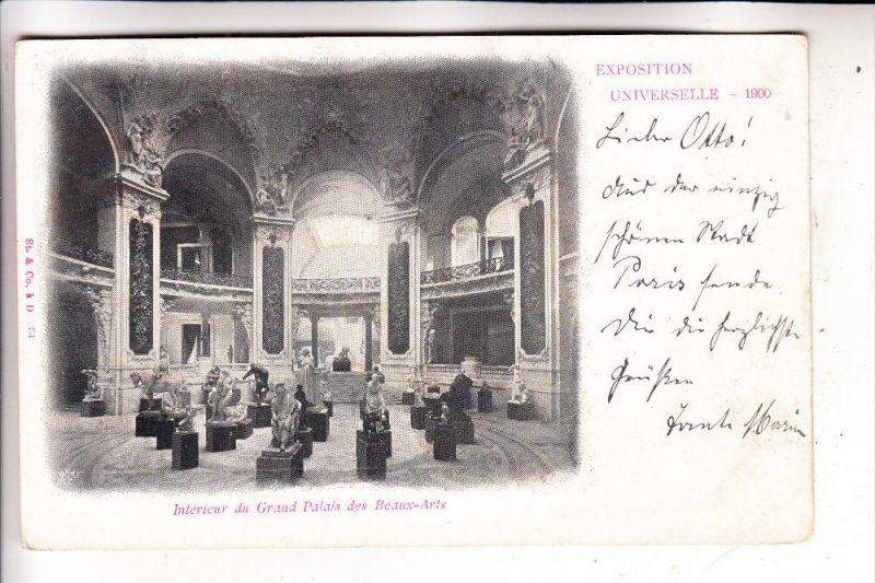 EXPO - PARIS 1900, Interieur Grand Palais