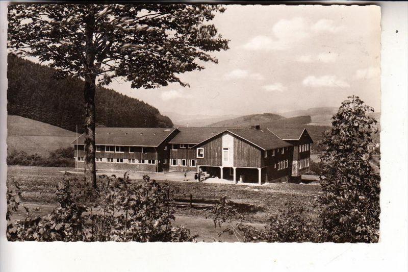 5942 KIRCHHUNDEM - OBERHUNDEM, DJH Jugendherberge, rücks. kl. Klebereste