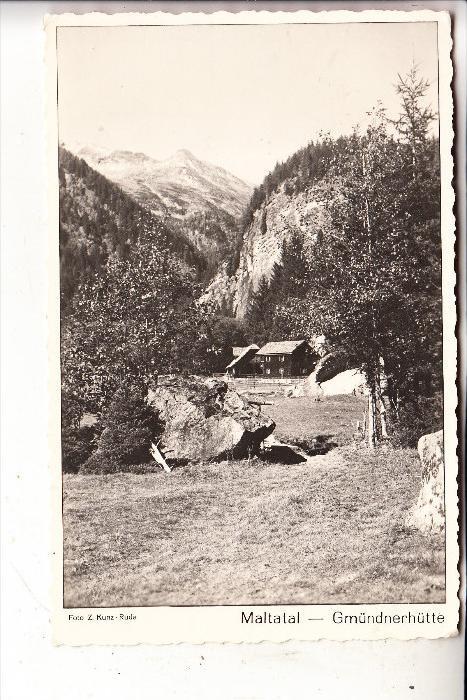A 9854 MALTA, Maltatal, Gmündnerhütte, 1957