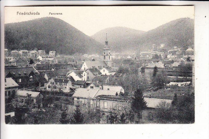 0-5804 FRIEDRICHRODA, Panorama, 1913