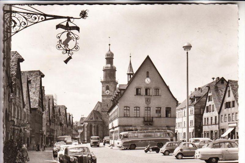 8560 LAUF, Marktplatz, BMW Isettta, Omnibus, 195...