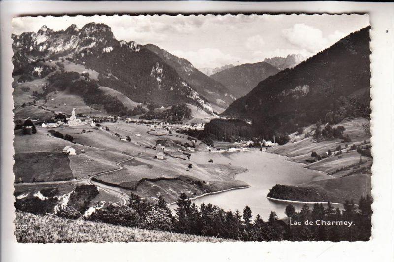 CH 1637 CHARMEY, Lac de Charmey, 1962