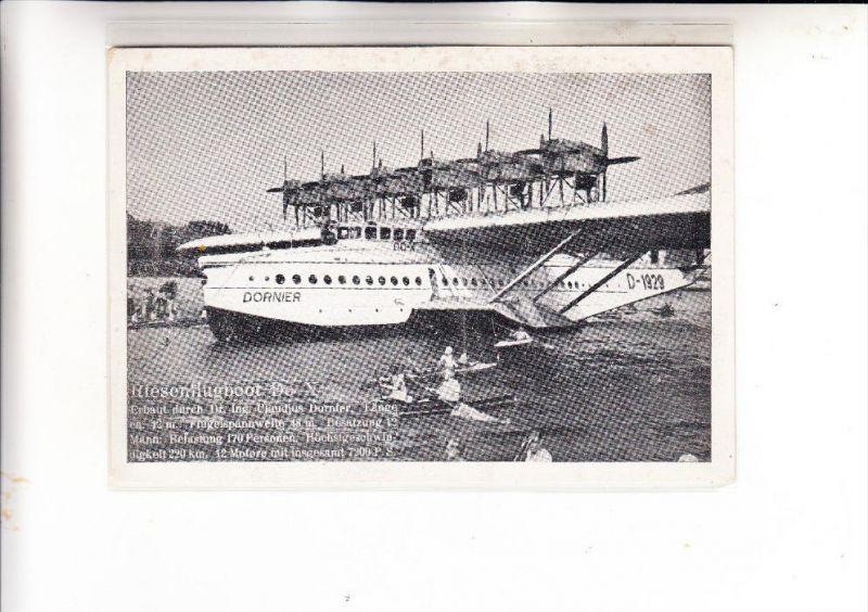 FLUGZEUGE / Airplanes / Avion - Riesenflugboot Dornier Do X