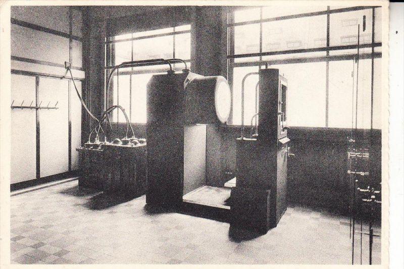 MEDIZIN - Röntgenapparat / Tomographe, Sanatorium Elisabeth Sijsele