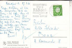 BERUFE - BÄCKER / Baker / Boulanger - Sonderstempel 1961, Int. Bäckerei-Fachausstellung Frankfurt