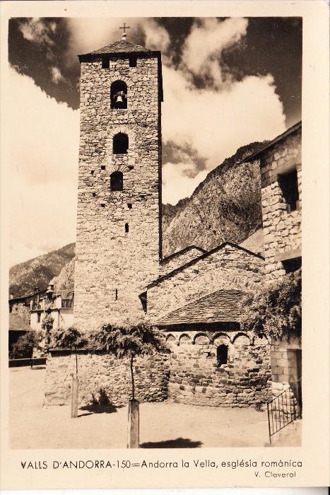 ANDORRA. Andorra la Vella, eglesia romanica