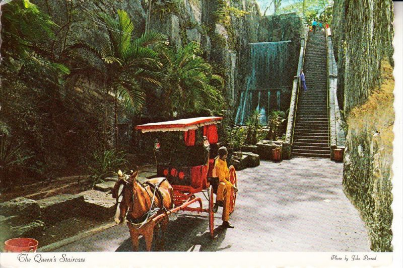 BAHAMAS, Queen's staircase