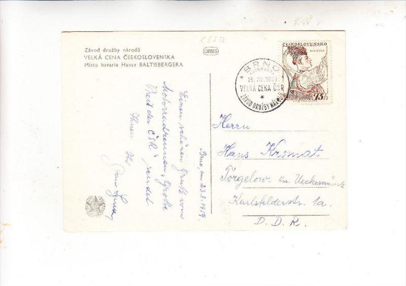 CSR, 1957, Michel 1052, AK-Einzelfrankatur
