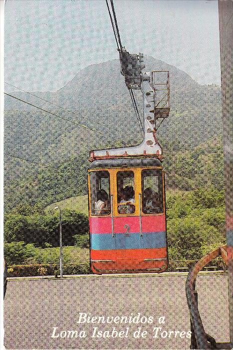 DOMINIKANISCHE REPUBLIK, Bergbahn / Teleferico / Funicular