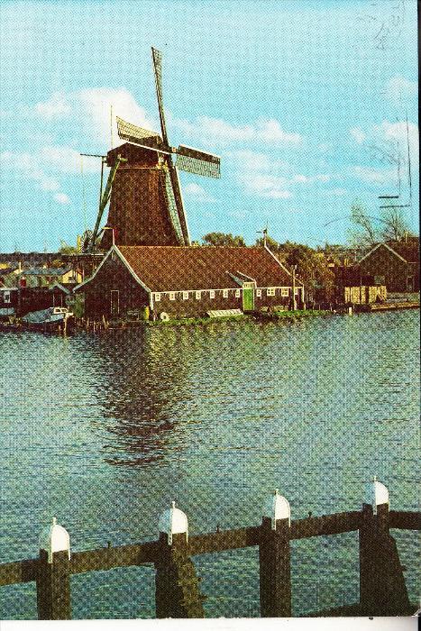 WINDMÜHLE / Mill / Molen / Moulin - ZAANSE SCHANS,