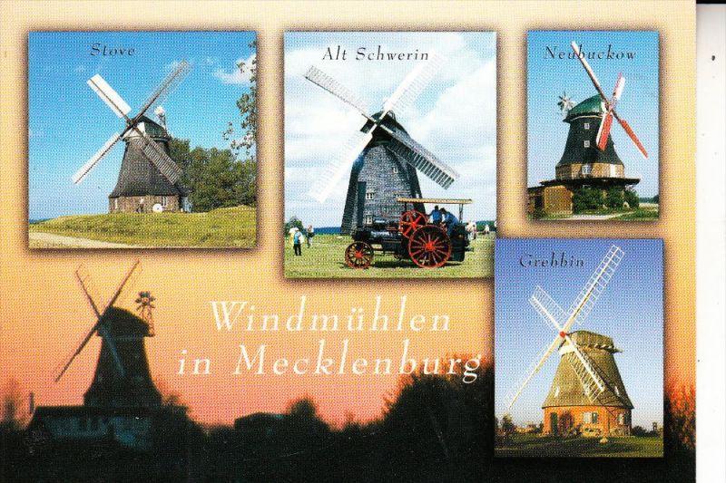 WINDMÜHLE / Mill / Molen / Moulin - Windmühlen in Mecklenburg