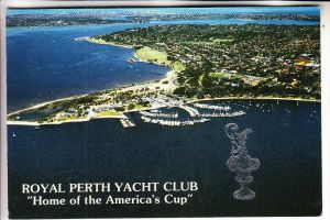 SPORT- SEGELN - Royal Perth Yacht Club, Home of the America's Cup