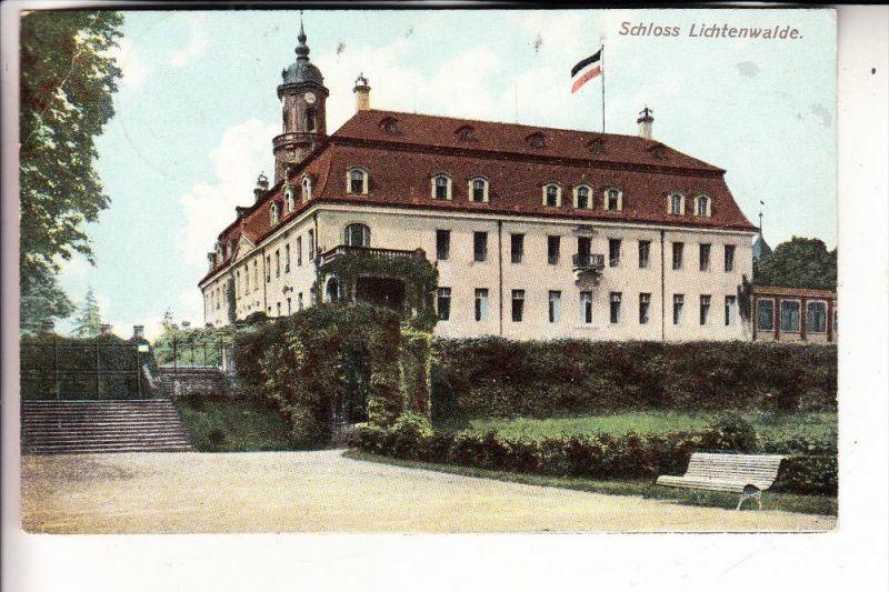 0-9387 NIEDERWIESA - LICHTENWALDE, Schloss Lichtenwalde, 1903 0