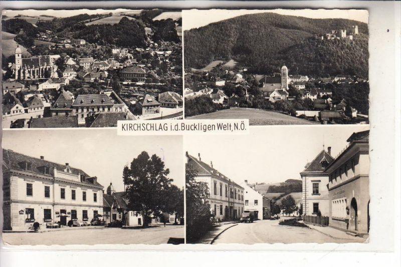 A 2860 KIRCHSCHLAG in der buckligen Welt, Mehrbild, 1961