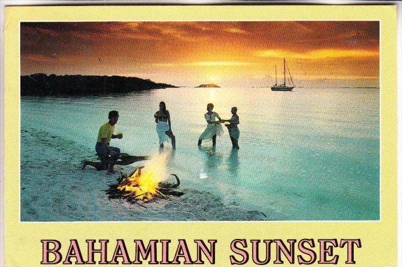 BAHAMAS, Bahamian Sunset