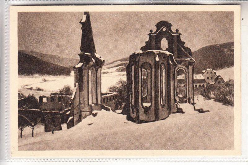 5560 WITTLICH - GROSSLITTGEN, Abtei Himmerod, Künstler-Karte Fritz von Wille