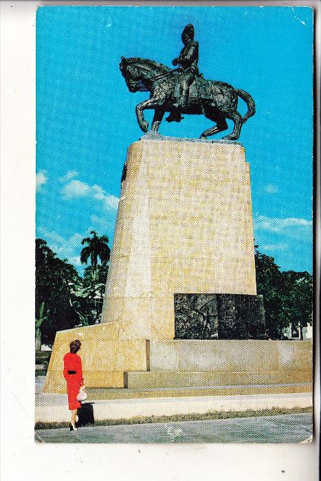 HAITI - PORT - AU - PRINCE, Statue of King Henri Christophe, 1956