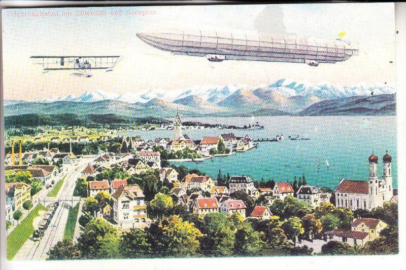 ZEPPELIN - Philatelistentag Friedrichshafen 1990