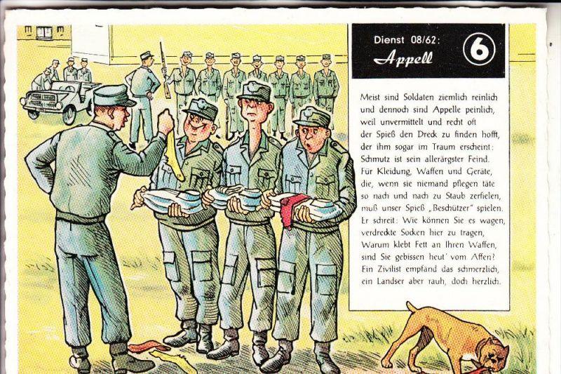 MILITÄR - Bundeswehr - Humor - Appell