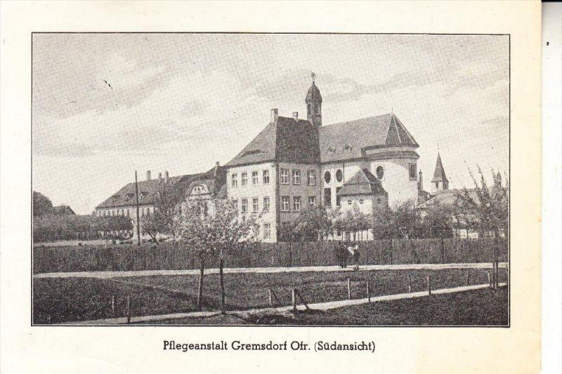 8552 HÖCHSTADT - GREMSDORF, Pflegeanstalt