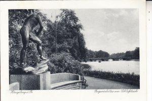 OSTPREUSSEN - KÖNIGSBERG / KALININGRAD, Bogenschütze am Schlossteich / Archer / Boogschutter / Arciere / Arquero