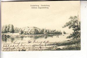 DK 6400 SONDERBORG / SONDERBURG, Schloss Augustenburg, 1911
