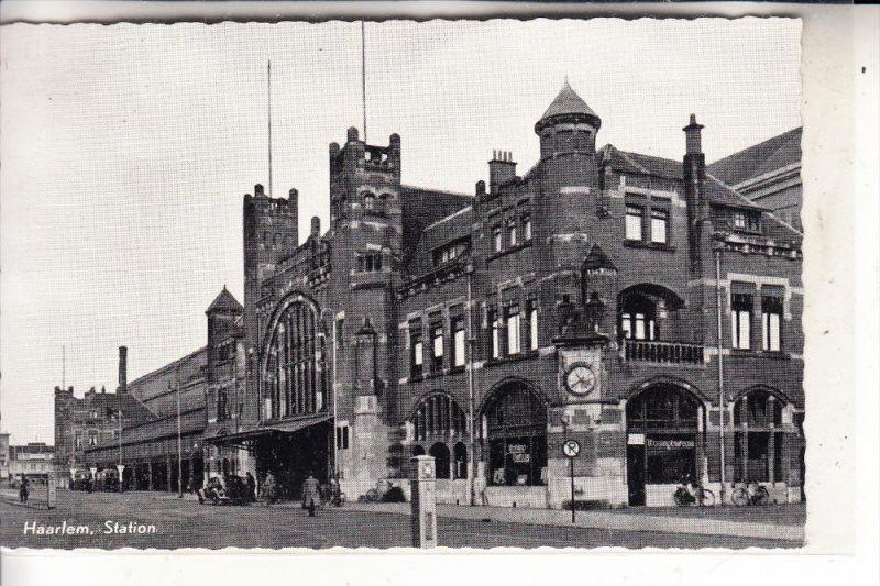 BAHNHOF / Station / La Gare - HAARLEM