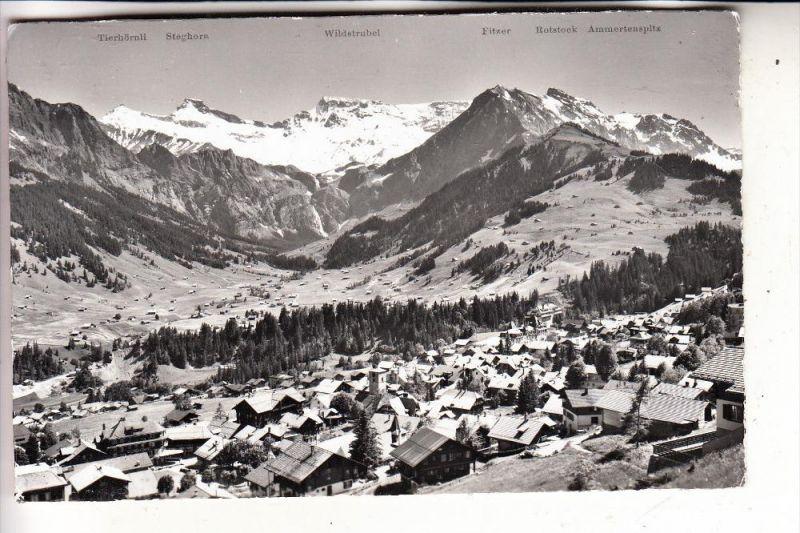 CH 3715 ADELBODEN, Panorama, 1958