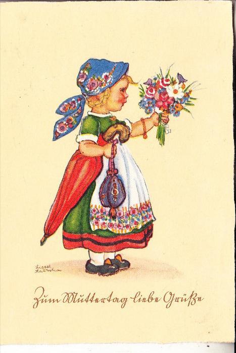 KINDER - Künstler-Karte Liesel Lauterborn, Muttertag