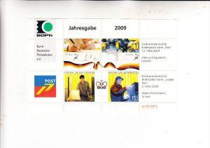 BUND, 2009, Jahresgabe BDPH, Deutschland & Liechtenstein