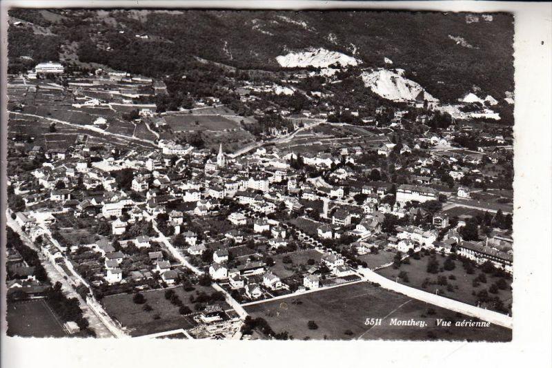 CH 1870 MONTHEY, Vue airienne