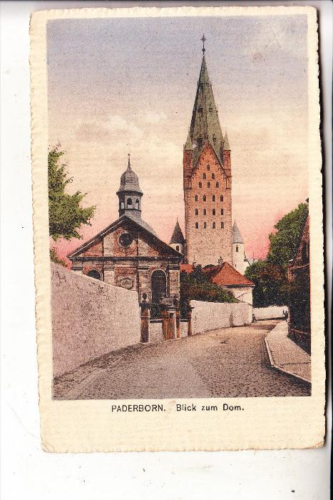 4790 PADERBORN, Blick zum Dom