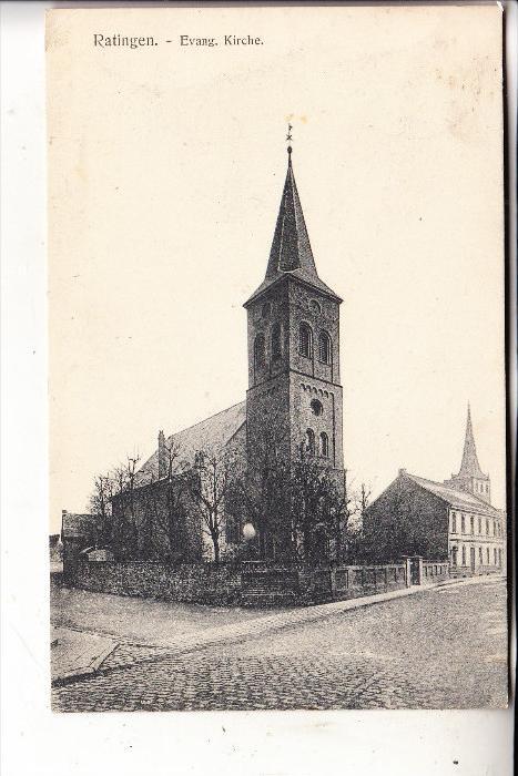 4030 RATINGEN, Evang. Kirche, 1906